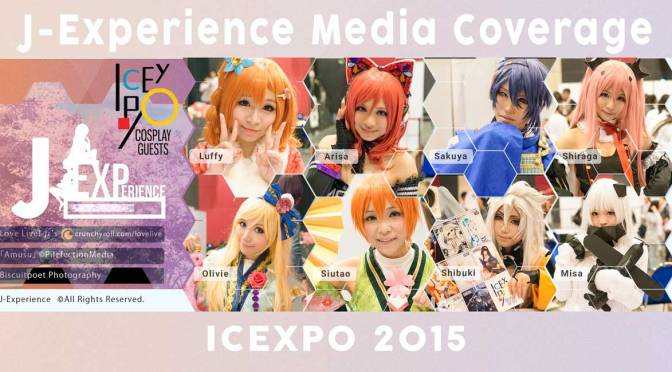 J-Experience Media coverage at ICEXPO 2015