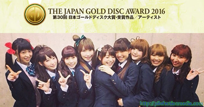 Love Live! Wins Animation Album of the Year and Special Award for the Japan Gold Disc Award 2016